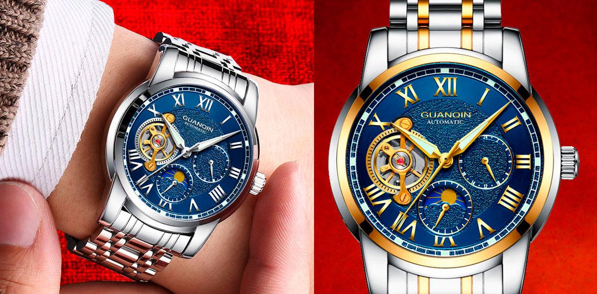официальный сайт часов guanqin