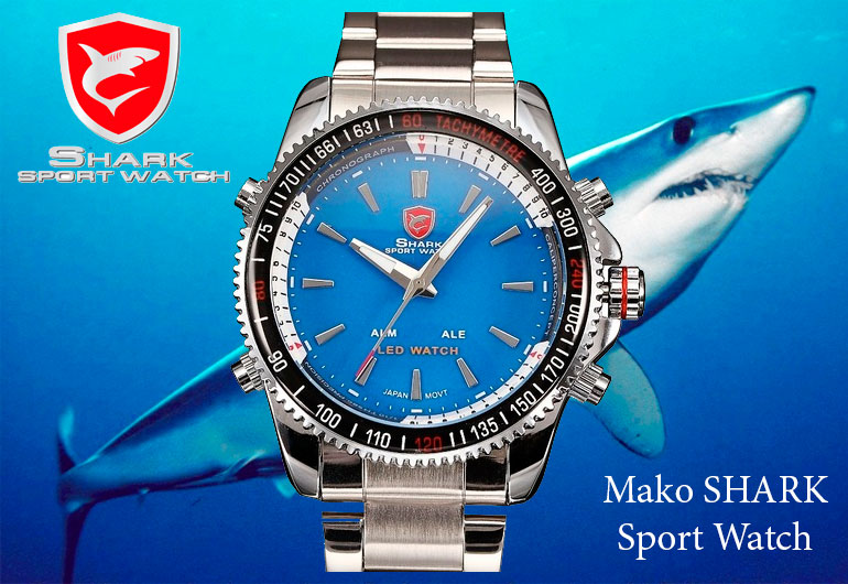 часы shark watch