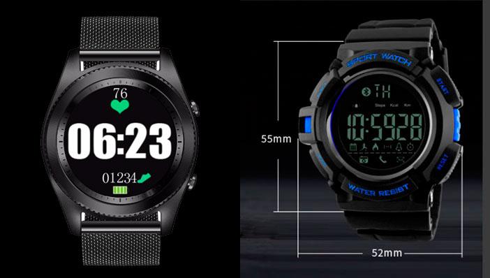 наручные часы skmei с пульсометром